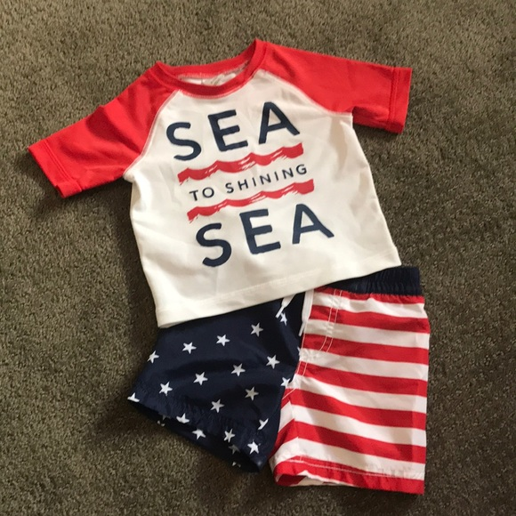 Old Navy Other - Baby boy swim outfit